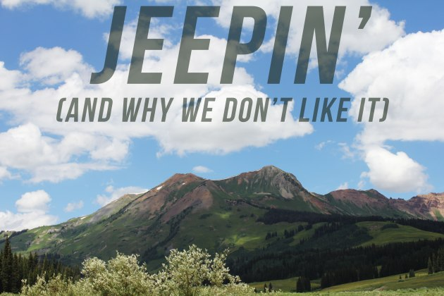 jeepin